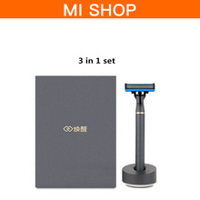 Buy Original Xiaomi Mijia 3 1 Shaver Razor German Importing Shaving Head Man for $21.30 in AliExpress store
