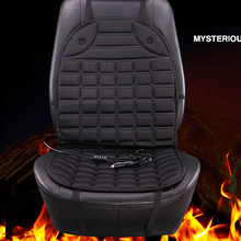 2018 brand new 12v heated car seat cushion universal electric winter cushions single heating pads keep warm car seat cover(China)