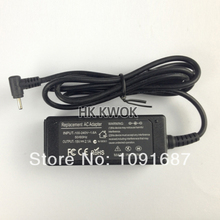 10pcs Wholesale 19V 2.1A AC Power Laptop Charger For ASUS Eee PC 1005HAB PC 1005HA 1005PE 1201AC 1001HA 1001P 1001PX(China)