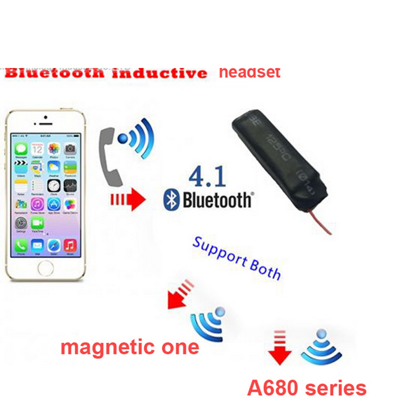 4.1 bluetooth headset voice transmitter handsfree headset voice handsfree induction transmitter for phone bluetooth headphone<br>