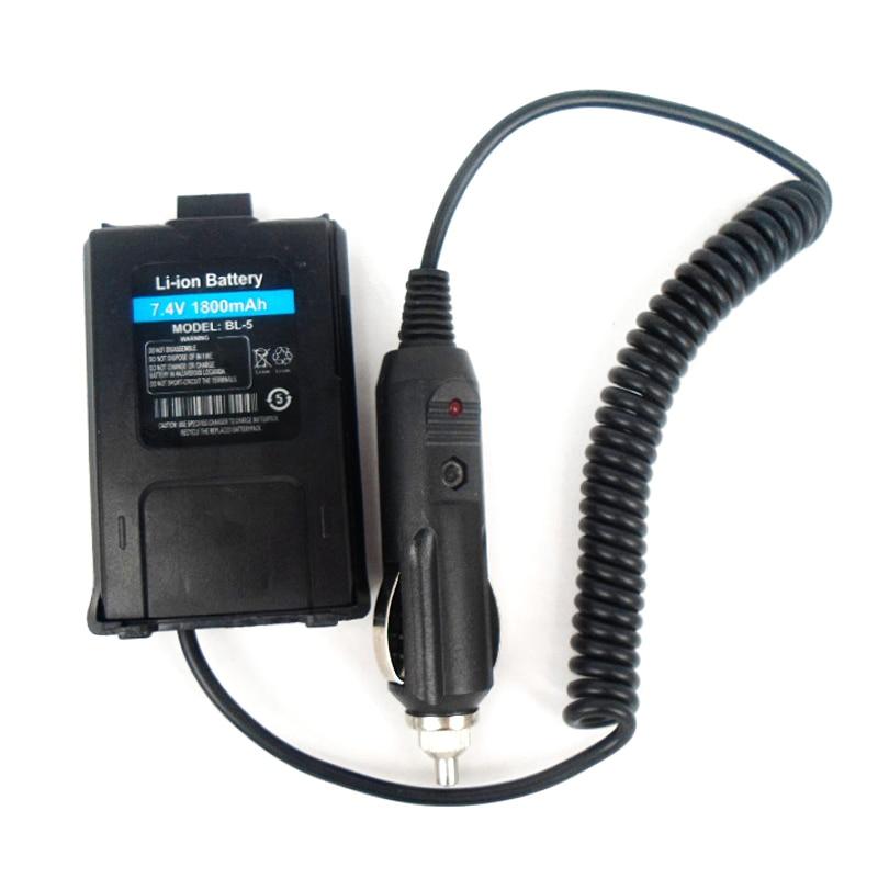 Baery Eliminator Car Charger For BAOFENG UV-5R 1