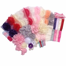 Fashion Headband Kit  New Shower Games Headband Station Party Supplies for DIY Hair Bow Maker Paris Inspired Collection A315-6