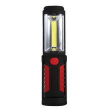 Portable 3W COB Led Inspection/Industrial Lamp Cordless Work Light Battery Operated Hand Torch/Flashlights