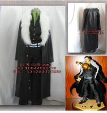 Anime One Piece P.O.PDX NEO Sir.Crocodile Luffy Gecko.Moria cosplay costume cloak set