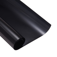 0.5*3m Car Window Film Foils Solar Protection Car Black  Sticker for Auto Window Side Window Solar Protection Transmittance 25%