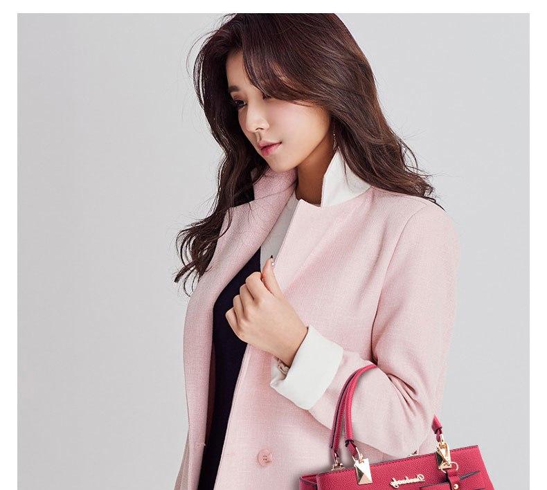WENYUJH New 18 Elegant Shoulder Bag Women Designer Luxury Handbags Women Bags Plum Bow Sweet Messenger Crossbody Bag for Women 23