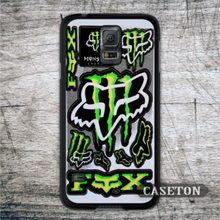 X Sport Fox Racing Protective Case For Galaxy S7 S6 Edge Plus S5 S4 Active S3 mini Win Note 5 4 3 A7 A5 A3 Core 2 Ace Mega