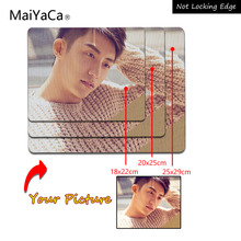 MaiYaCa Super Deal Diy Personalized Custom Your Cool Image Photo Printed Gamer Gaming Rectangle Mouse Pad PC Computer Rubber Mat