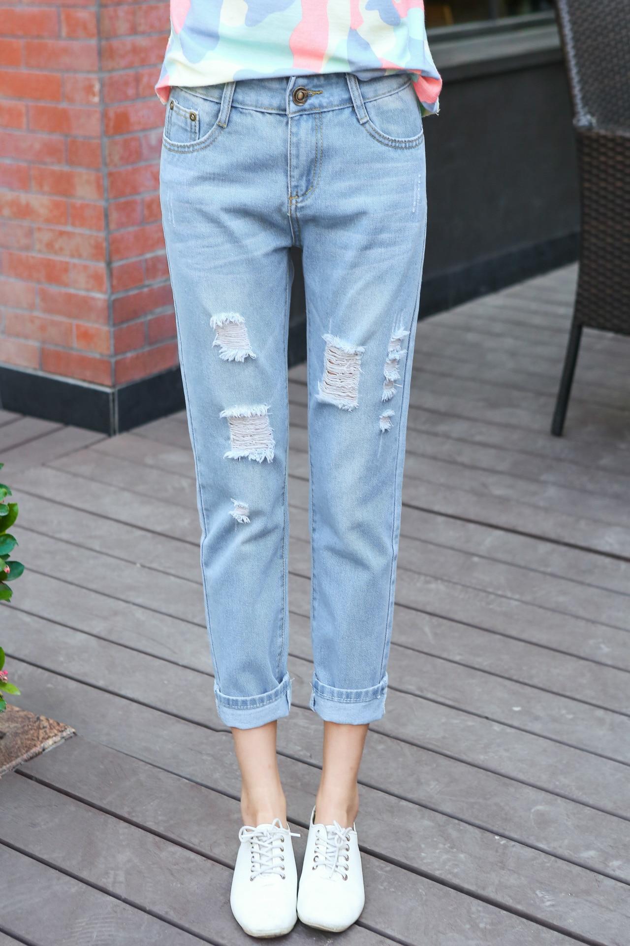 Модные женские джинсы бойфренды-2017: фото стильных 10