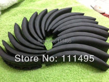 Black White 100pcs Replacement Headband Cushion Pad For Studio Headphones