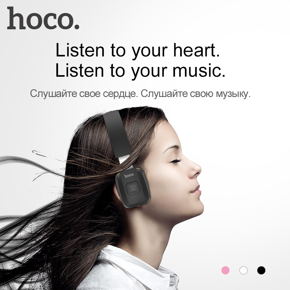 HOCO Bluetooth Headphone Hybrid Wired &amp; Wireless Headset Gamer with Microphone Remote Big Earphones For iPhone Samsung Handsfree<br>
