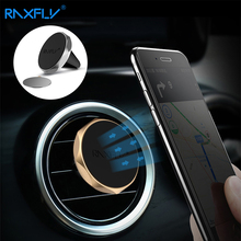 RAXFLY Car Holder Car Phone Holder Stand Support Air Vent Mount Magnetic Auto GPS Dock Mobile Holder For iPhone 7 6 5 5s Bracket(China)