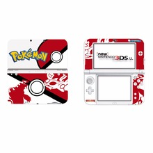 Pokemon Ball Vinyl Cover Decal Skin Sticker for Nintendo New 3DS XL & New 3DS LL Console Skins Stickers