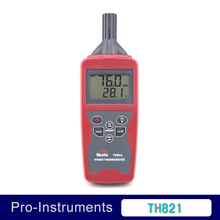 Digital max min hygro thermometer with Dewpoint calculation and wet bulb TH821