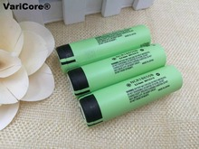 3PCS New Original 18650 3.7 v 3400 mah Lithium Rechargeable Battery NCR18650B For Flashlight/Laptop batteries