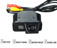 Car Reverse Rear View Camera For TOYOTA Corolla 2007-2011 Vios Avensis T25 T27 backup Camera Guide Line Night Vision Water Proof