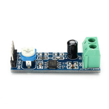 1PC New Arrival LM386 Module 20 Times Gain Audio Amplifier Module with Adjustable Resistance For Raspberry Pi
