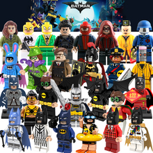 Building Blocks Batman Barbara Gordon Eraser Rome Figures Super Heroes Star Wars Model Action Bricks Kids DIY Toys Hobbies