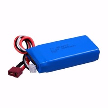 7.4V 2000mah battery for Wltoys 12428 12423 L202 K959 RC Car Spare parts Upgrade accessories   free shipping