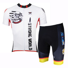 Anime One Piece Luffy White Short Sleeve Cycling Jersey Men Cycling Clothing Cycling Equipment Cycling Sets X139