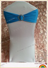 turquoise spandex band with plastic buckle for chair covers/spandex band