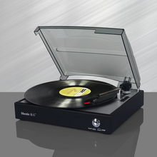 Douk Audio Antique Stereo Home Turntable Phonograph Vintage LP Vinyl Record Player PC USB Recording Playback 220V