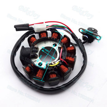 Magneto Ignition Stator Coil 11 Poles For GY6 125cc 150cc Moped Scooter ATV Quad Go Kart Motocross Motorcycle Motorbike(China)