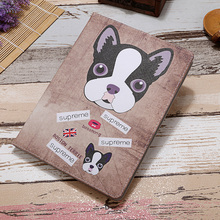 New Smart Cute Folding Edge Long Face Dog Sheep Luxury Tablet Cover For Apple Air 2 6 Case For Ipad Air 5 PU Leather Full Body