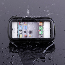 Motorcycle Bicycle Phone Holder For Samsung Galaxy S7 S6 Edge S5 G530 A5 A7 Support Mobile Phone stand With Waterproof Case Bag