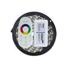 5050 RGB LED Strip 5M 300Led DC12V Flexible Light not waterproof Led stripe rope lights + 2.4G touch screen RF remote control