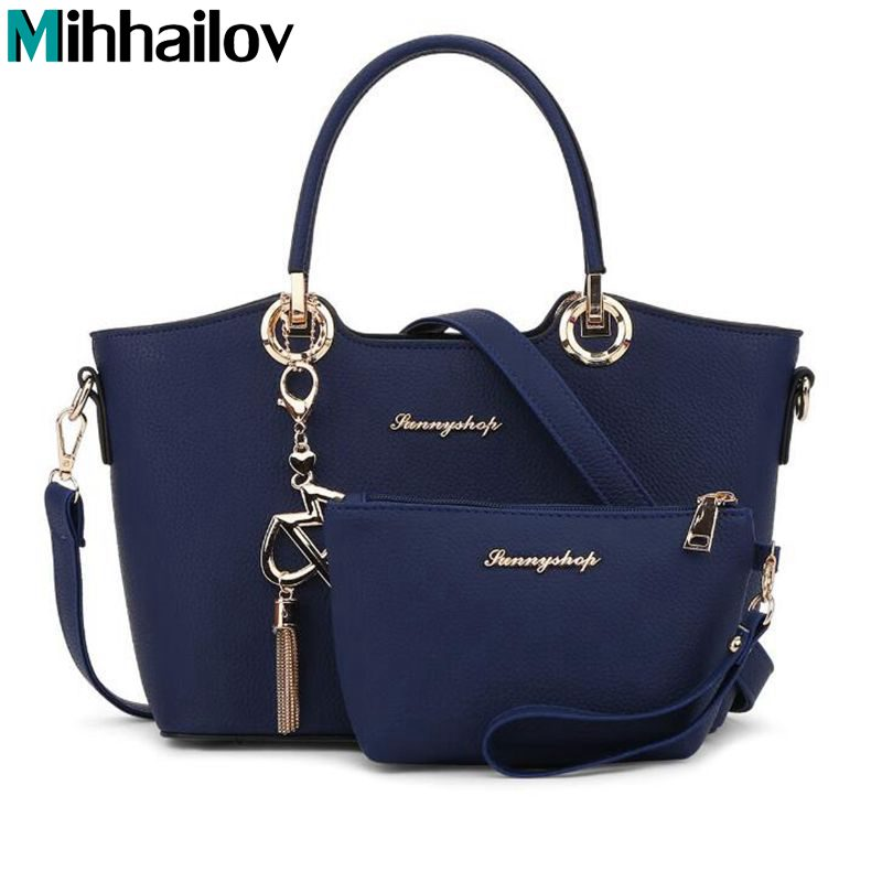 Luxury leather bags handbags women famous brands shoulder bags female high quality designer casual tote crossbody bag XS-197<br>