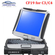 2017 Top-rated High Quality Toughbook Panasonic CF 19 CF19 cf-19 laptop For mb star C3 /C4with free shipping by DHL fast