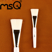 MSQ Professional  1PCS Facial Mask Brush Face Cosmetic Beauty Makeup Brush Tool Soft Synthetic Hair Wood Handle Facial Brushes