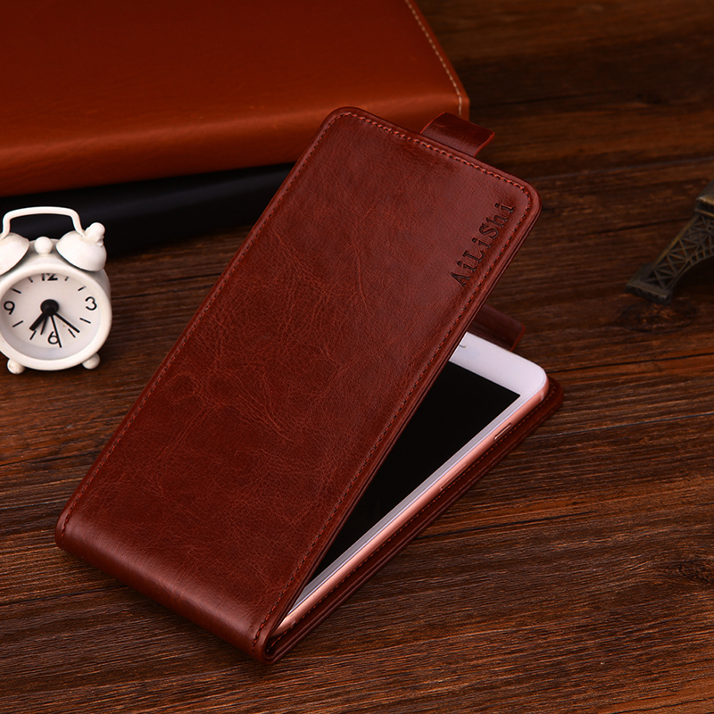 AiLiShi For Xiaomi Redmi 4X Case Up And Down Vertical Phone Flip Leather Case Phone Accessories Factory Direct Tracking In Stock