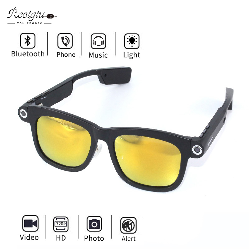 SNAPSHOT OUTDOOR SPORTS HD VIDEO REMOTE CONTROL DVR CAMERA SPECTACLE SUNGLASSES