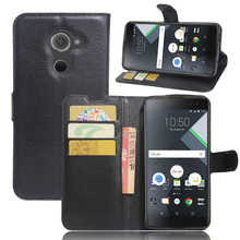 For BLACK BERRY DTEK60 case cover ,New 2017 Lychee leather wallet stand phone case cover For BLACK BERRY DTEK60(China)