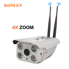 1080P Zoom IP Camera Outdoor Waterproof WIFI 4X Optical 2MP Full HD Sony IMX322 CCTV Security TF SD Card Audio Onvif IR Infrared(Hong Kong)