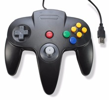 Wired Joystick Controller Gamepad For HAOBA Gamecube N64 Controller with USB Or GC For PC Mac Controle