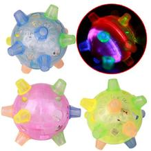 Electric glow dancing ball, flashing music ball toys for children kinder wooden toys baby toy light up toys random color