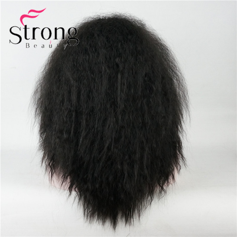 kinky straight Lace front wig (5)