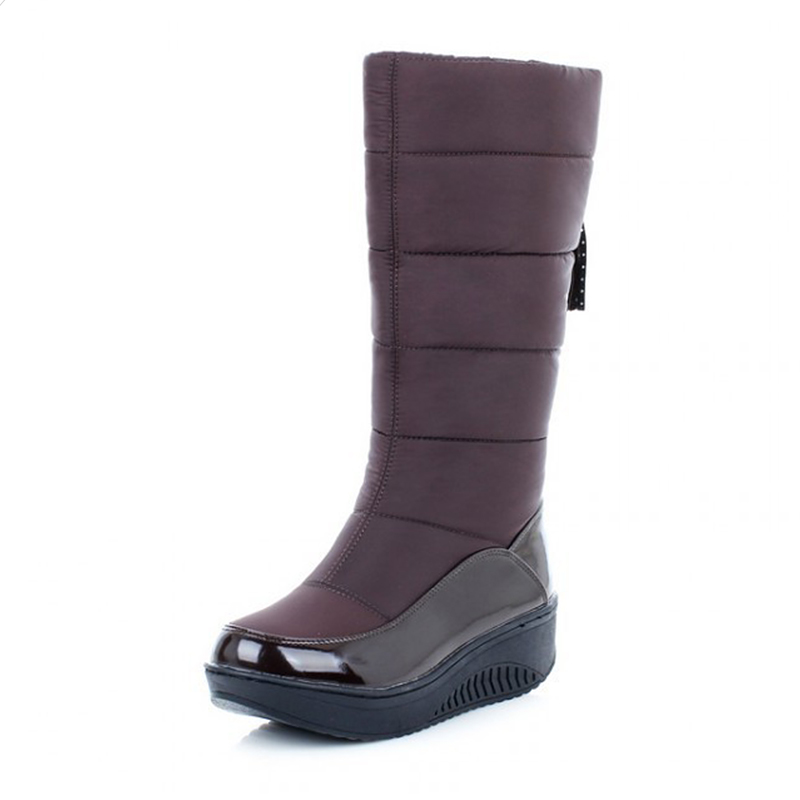 2018 Snow boots Winter brand women boots for winter warm non-slip waterproof mother women shoes cotton winter boots female shoes<br>