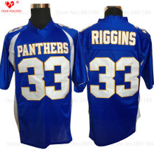American Football Jerseys Mens Throwback Friday Night Lights Tim Riggins 33 Dillon High School Jersey Retro Stitched Blue Shirt