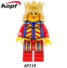 KF119 20Pcs Building Blocks Super Heroes Star Wars King Statue Of Liberty West Cowboy Brick DIY childrens Toys Christmas Gift