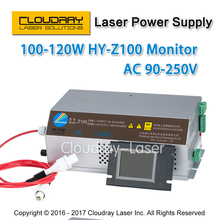 100-120W CO2 Laser Power Supply Monitor AC90-250V  EFR Tube for CO2 Laser Engraving Cutting Machine Z100