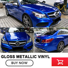 OPLARE 1.52M*20M/roll Colour Change Car Wraps Gloss Metallic Vinyl Wrap Price Comparison quality Guaranteed Classic selling(China)