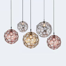 T Modern Creative Chandelier Metal Lighting LED E27 Bulb Indoor Lamp For Home Living Room Dining Room Bedroom Balcony Coffeeshop