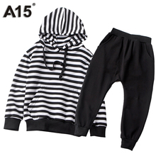 A15 Kids Clothes Boys Sport Toddler Girls Clothes Sets Summer 2017 Girls Sets Outfits Kids Clothing Sets 2017 Age 2 6 7 8 9 Year(China)