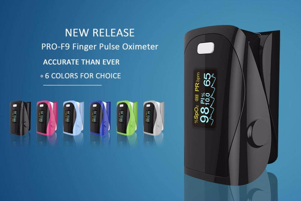 Household Health Monitors Finger Pulse Oximeter ABS Silicone Sensor Equipment Pulsioximetro OLED SPO2 Heart Rate Monitor-NEW 3