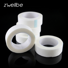 zwellbe 5 Pcs/Lot Eyelash Extension Lint Free Eye Pads White Tape Under Eye Pads Paper T For False Eyelash Patch Make Up Tools(China)