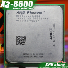 AMD Phenom X3 8600 2.3GHz Triple Core Processor Socket AM2/AM2+ 940-pin cpu, 95W L3=2M, free shipping, there are, sell X3 8650(China)